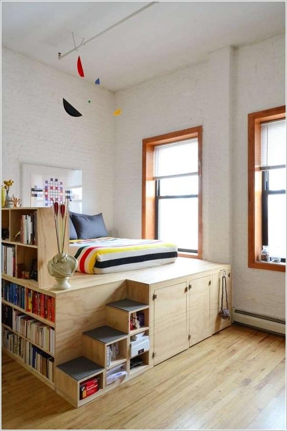 10 أفكار لتوفير مساحة في المنازل الصغيرة