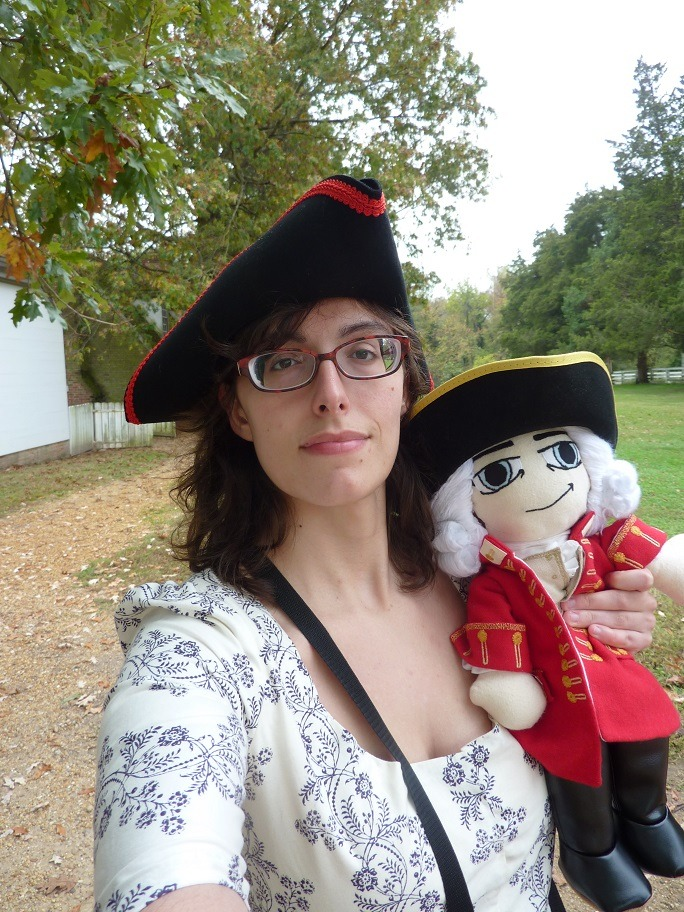 Plushcoat and I at Colonial Williamsburg this past weekend!! (I took about 300 pics so its hard to choose what to post!)