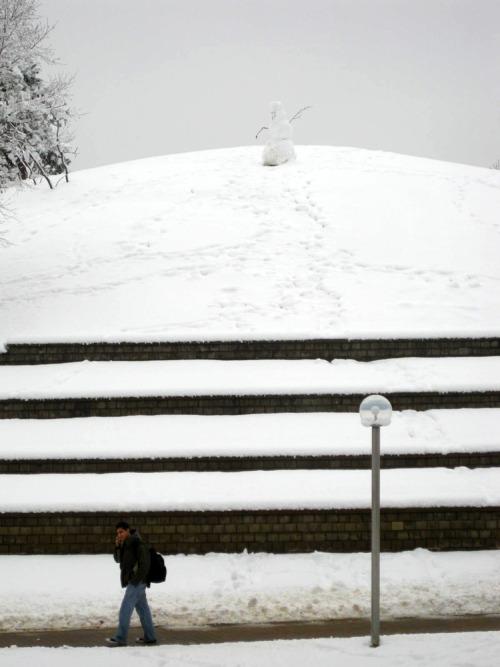 JCCC Snowman