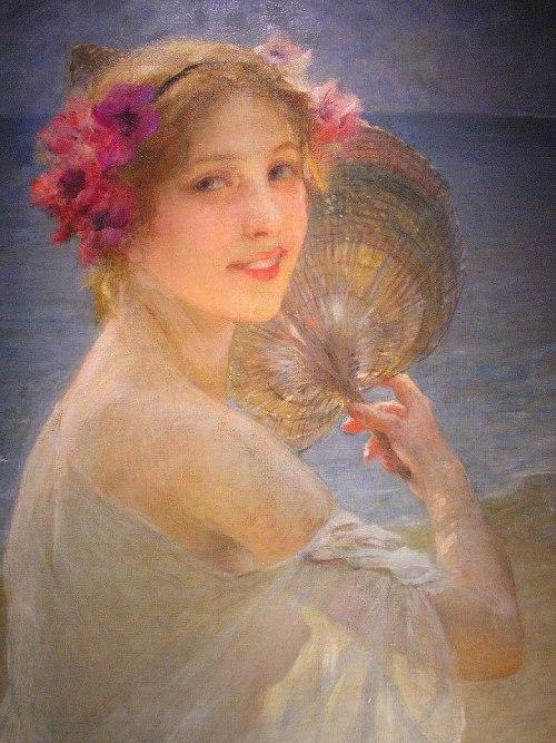 fleurdulys:  La Passante - Charles-Amable Lenoir 1924