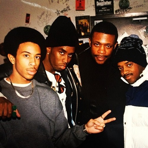 Ludacris, P. Diddy, Keith Sweat, Jermanie Dupri.