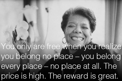 Maya Angelou on freedom – fantastic 1973 conversation with Bill Moyers.