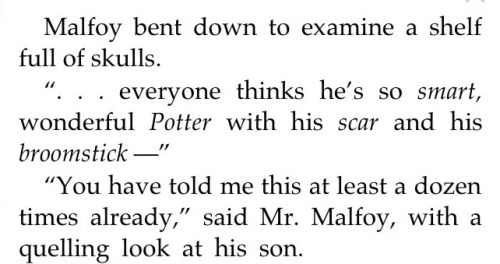 Image result for draco malfoy chamber of secrets quotes book