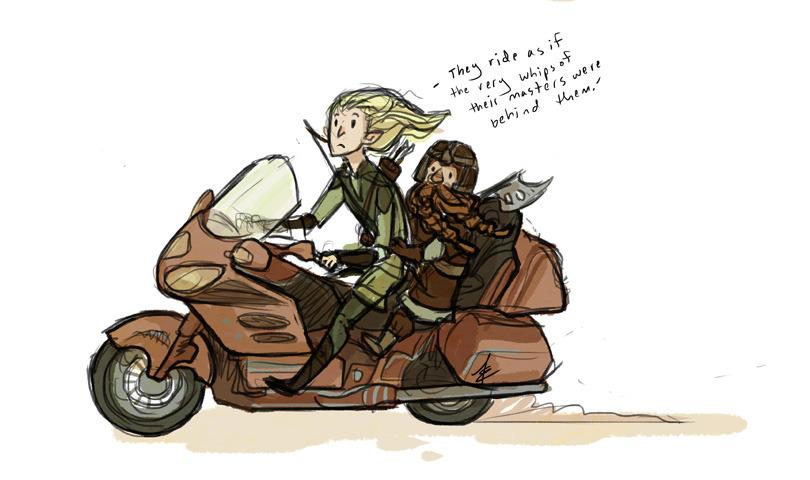 The cool kids' bike