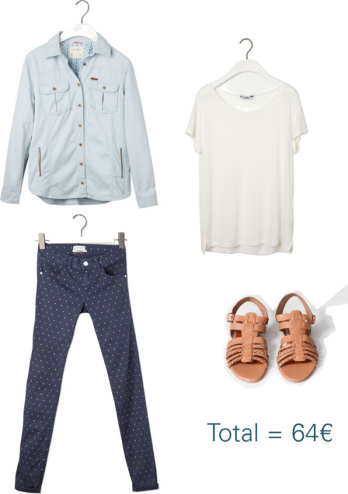 pull and bear look polyvore