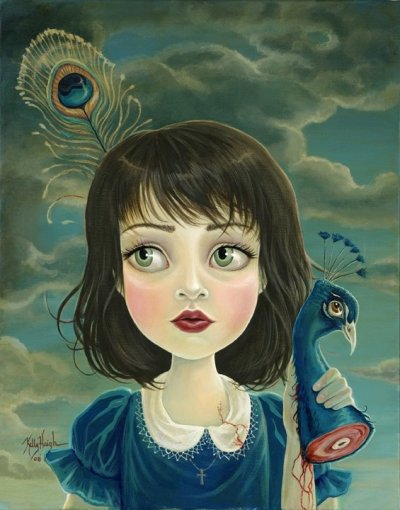 is this woman directly ripping off Mark Ryden? I thought it looked eerily familiar. it seems like such a unique and deliberate style, how can you copy it without the inevitable comparison.<br />