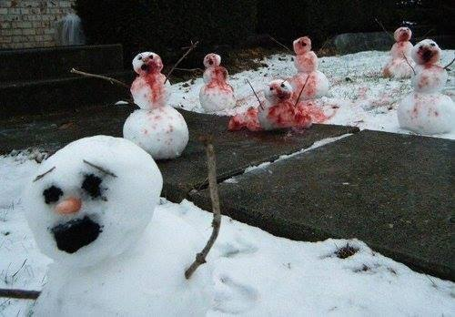 georgetakei:</p><br /><br /><br /> <p>The zombie snowpocalypse. http://ift.tt/19BYSVy