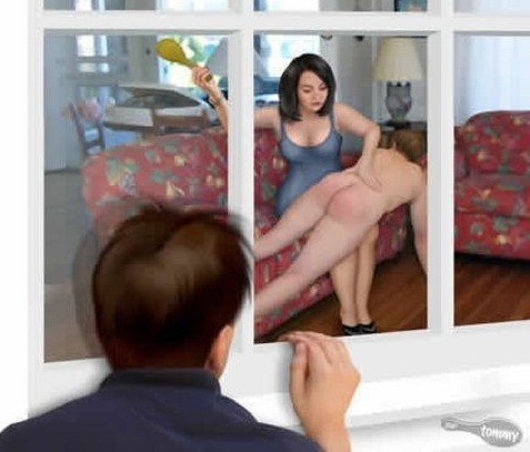art by sorenutz spanking