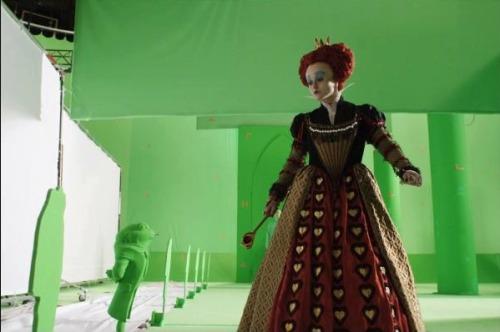 Alice in Wonderland Tim Burton Before VFX