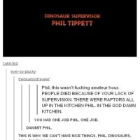 Jurassic Park's Dinosaur Supervisor Isn't Taking The...