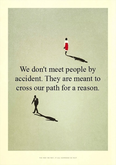 meet people for a reason