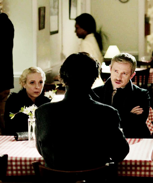 BBC Sherlock The Empty Hearse John Mary screencap image