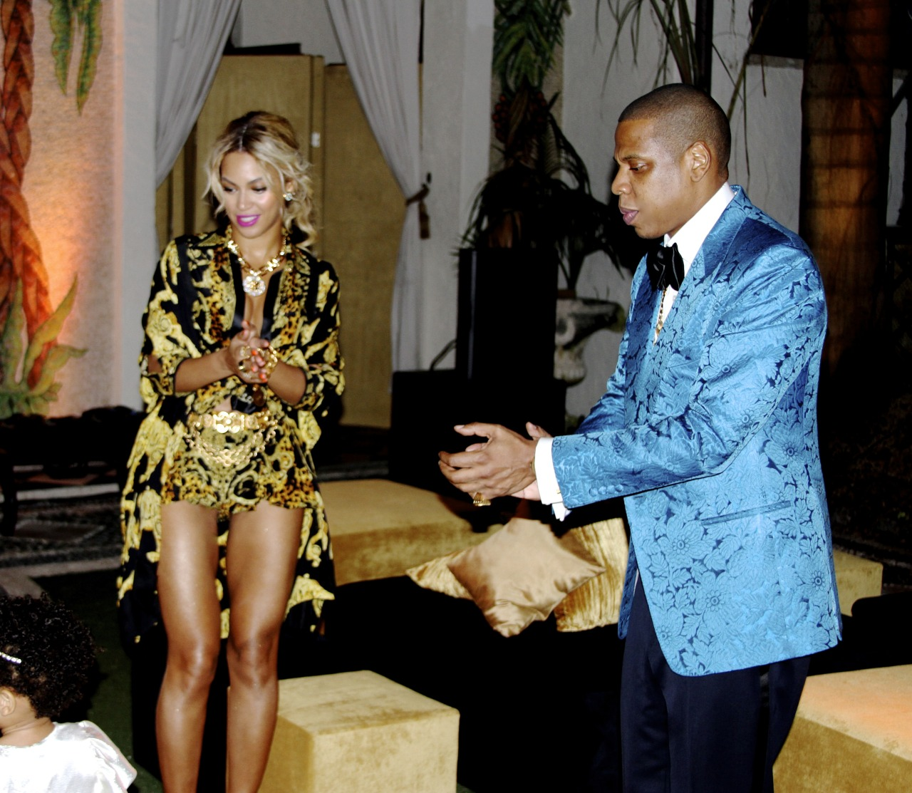 beyonce and jayz and blue ivy 2014