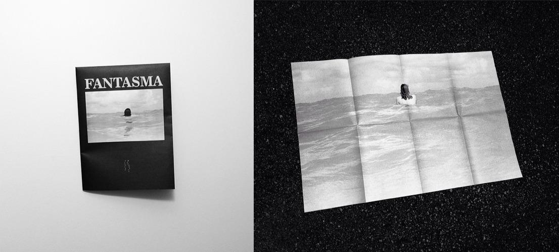 FANTASMA/GHOST<br /> Silvino Mendonça<br /> b/w offset, 60x90cm<br /> Primeira Edição / First Edition<br /> R$30 / $15