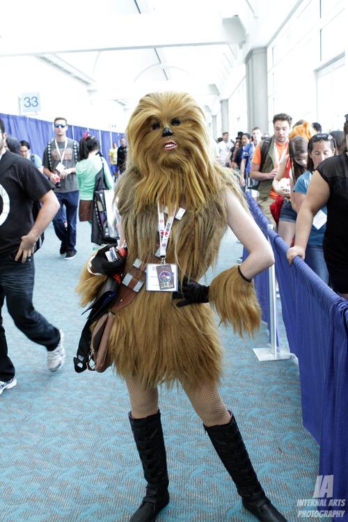 female chewbacca cosplay