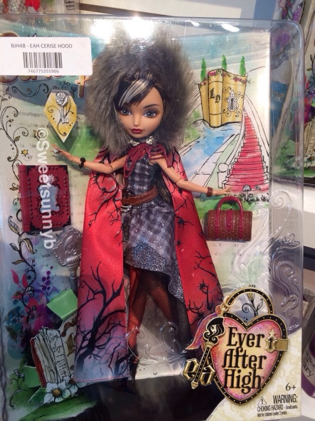 Cerise Hood Legacy Day Ever After High Toy Fair New York EAH Mattel