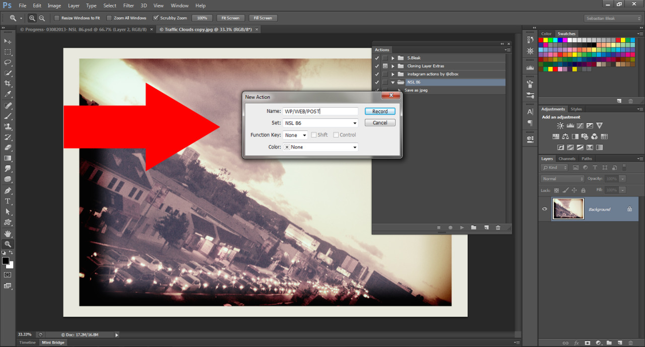 Adobe Photoshop CS6 Actions