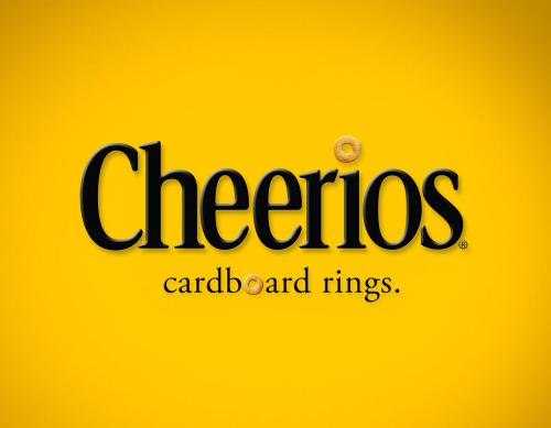 Cheerios honest slogans