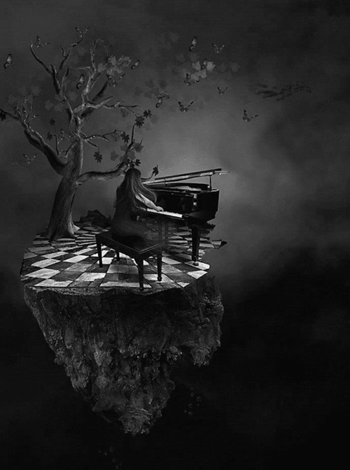 blackoutraven:</p> <p>harmonies</p> <p>Do what you enjoy most.<br /> Read, play music, sing….<br /> Escape into your own fantasy world.<br /> Refresh your mind and energy.<br /> You'll be more than ready<br /> to face the world once again.
