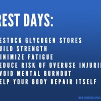 What to do on rest days
