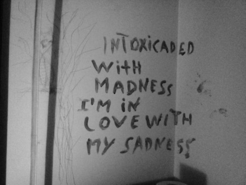 Image result for mad love black and white