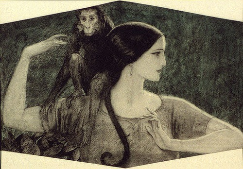 """Lovely Lady by Władysław Teodor """"W.T."""" Benda"""