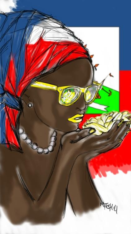 dirtysumitch:Haitian women are beautiful
