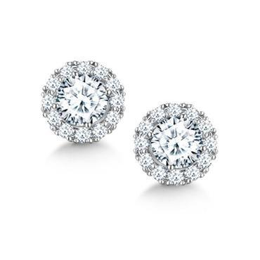 zsazsasitlist:  DESIGNER: FOREVERMARK DETAILS HERE: CENTER OF MY UNIVERSE DIAMOND HALO EARRINGS