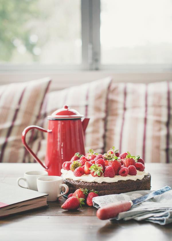 (vía Flourless Chocolate Cake (A Table For Two))