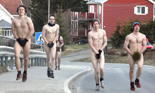 nordic nude running boys
