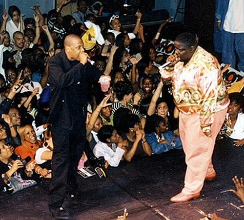 Jay-Z & Biggie Smalls.