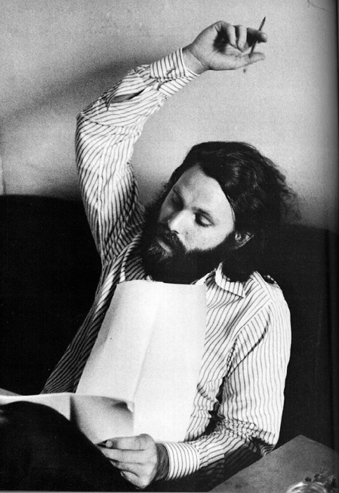 Jim Morrison Writing