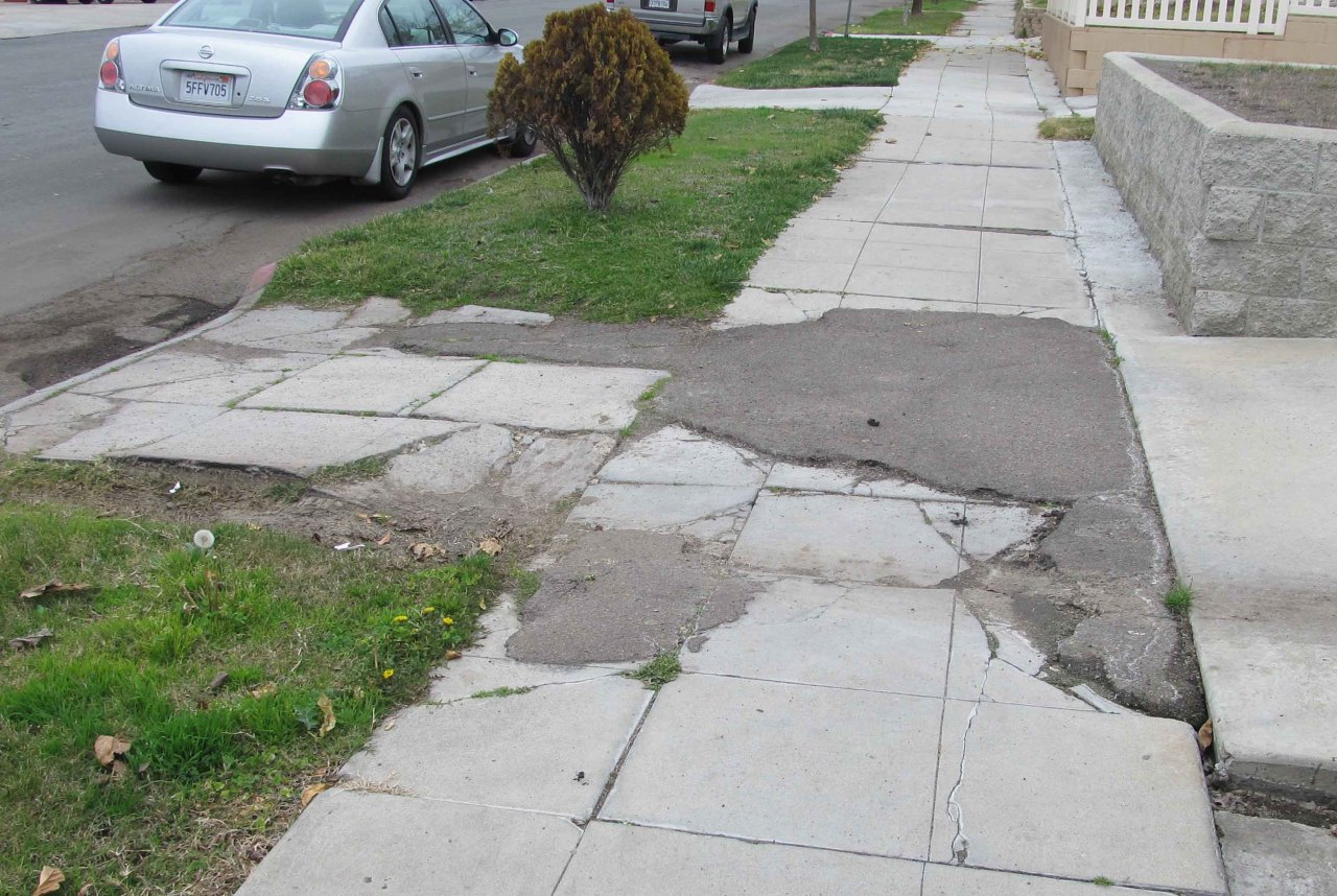 Now that's an ugly Sidewalk