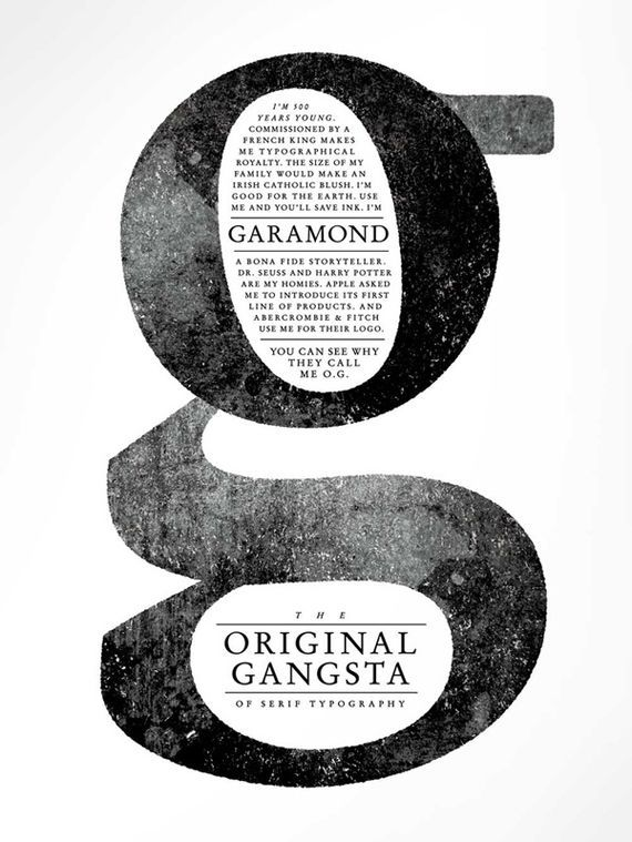The Original Gangsta of serif typography.