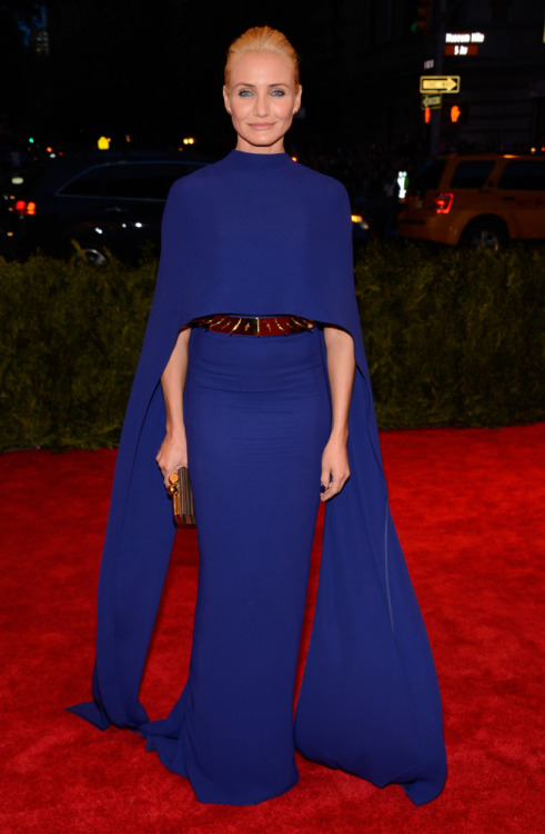 Cameron Diaz in Stella McCartney at the 2013 Met Ball