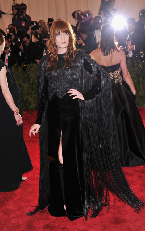 Florence Welch in Givenchy at the 2013 Met Ball