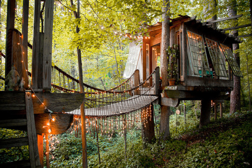 Tree House, Atlanta, Georgia<br /> photo via minerva