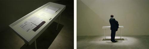 Installation at Centre d'Arte Santa Monica, Barcelona 2007