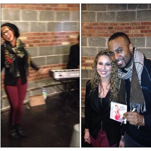 @AmericanIdol's @HaleyReinhart's surprise performance for @MusiCaresUSA at @ChelseaMarketNY #IWD (at Chelsea Market)