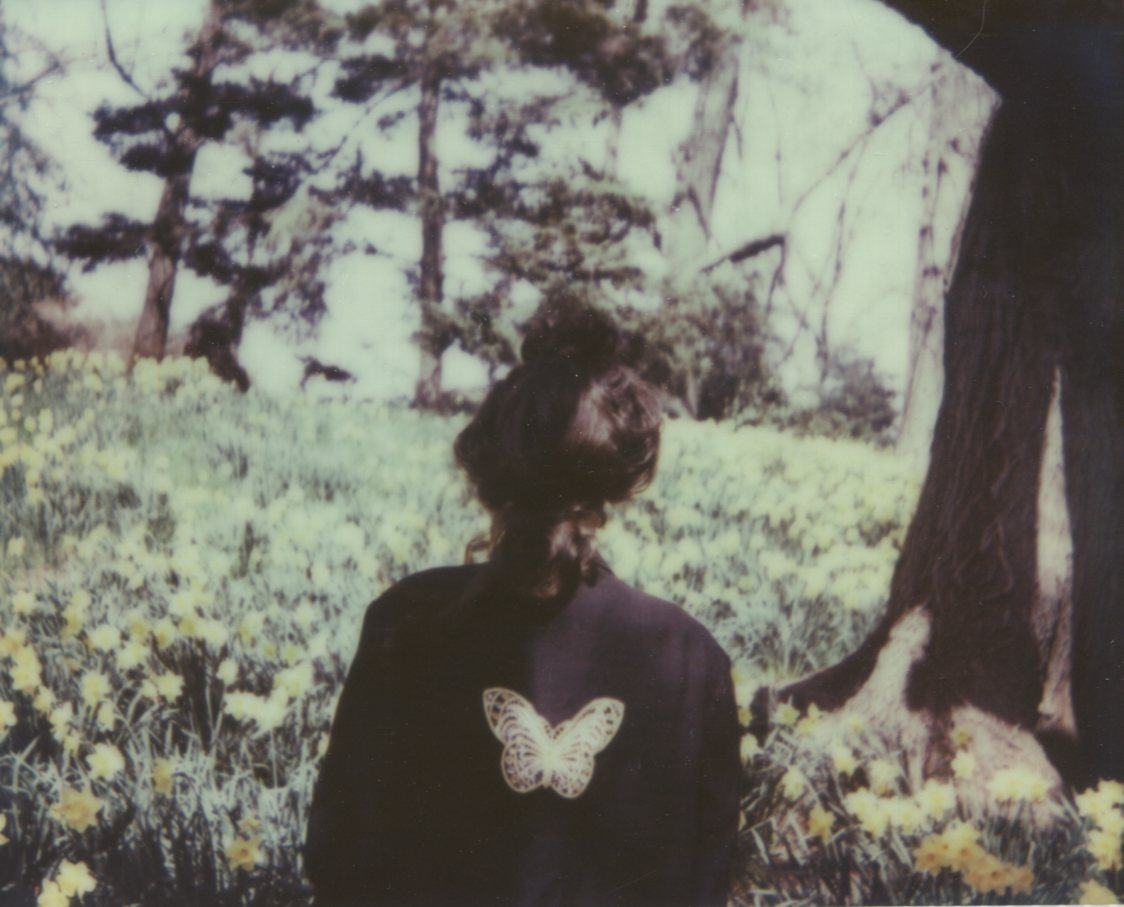 Hill of Daffodils, Self PortraitThe IMPOSSIBLE Project, CP PZ680 Film© Anna Marcell
