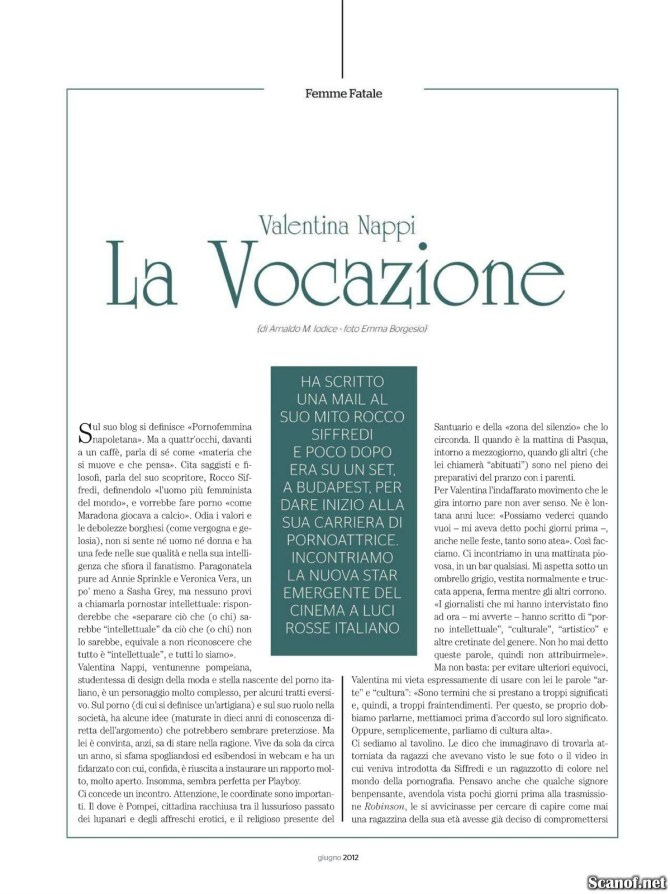 Playboy giugno 2012   Pag 2/6