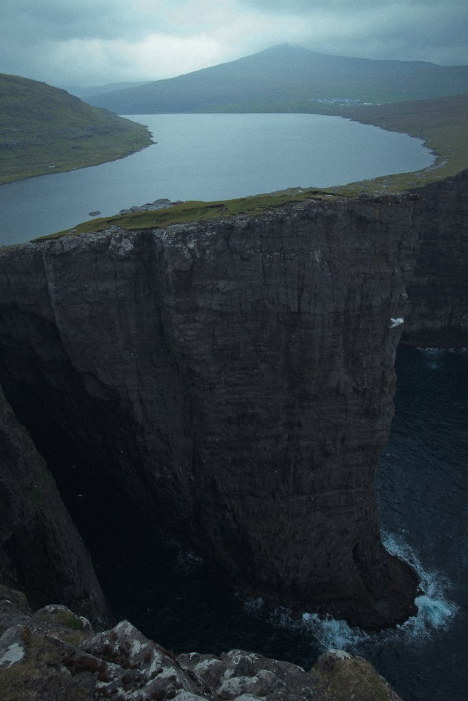 <br /> Faroe Islands</p> <p>Do you ever feel like you're standing<br /> at the edge of a precipice?<br /> One wrong move and you could<br /> be falling to your death.<br /> Life could be over for you<br /> in a split second.<br /> One wrong move and<br /> everything changes forever.<br /> We only get one life to live.<br /> Make the right choices.