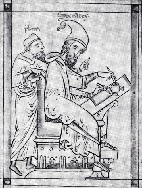 Derrida, Platón, Sócrates