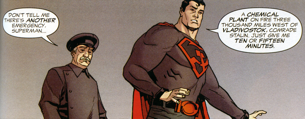 Superman Red Son All Star Otaku