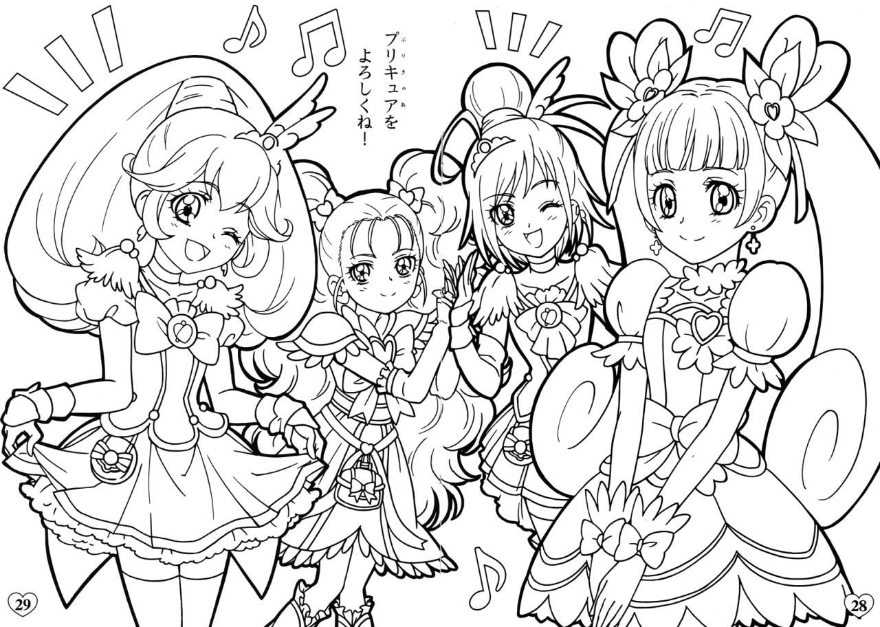 Imagens Doki Free Colouring Pages