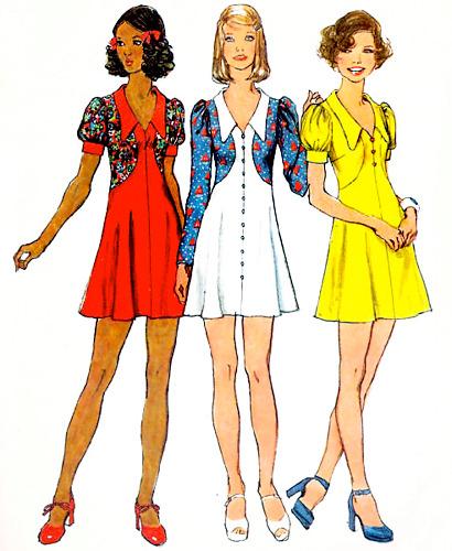 '70s fashion illustrations at Flickr