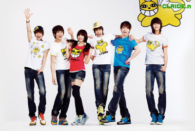 with SHINee for CLRIDE.n