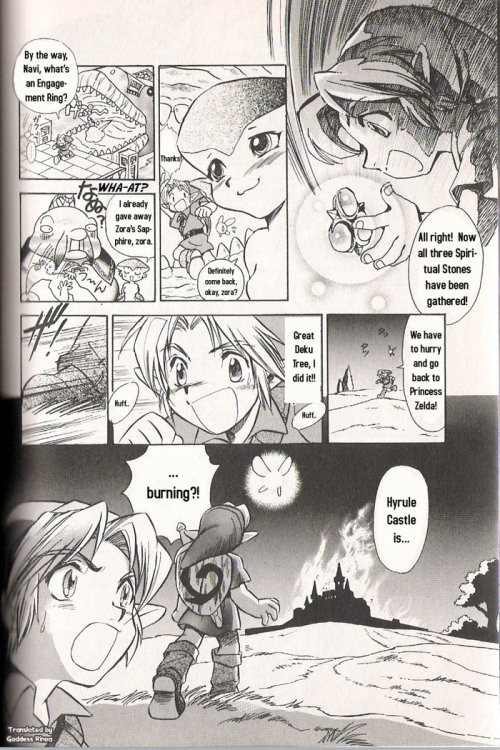 The legend of ZELDA - Ocarina of Time - Manga Part 1