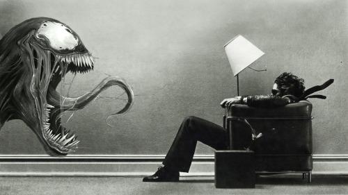 Maxell dude + Venom