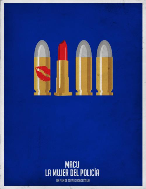 Macu: La mujer del policia - Minimal Movie Poster #cinevenezolano
